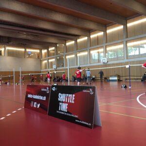 Schule in Genolier nimmt mit 337 SuS am Shuttle Time Cup teil